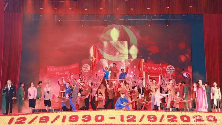 Lễ kỷ niệm 90 năm phong trào Xô Viết Nghệ Tĩnh - ảnh 1