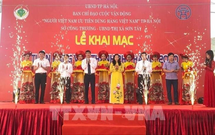 Khai mạc Tuần hàng Việt thành phố Hà Nội năm 2020 - ảnh 1