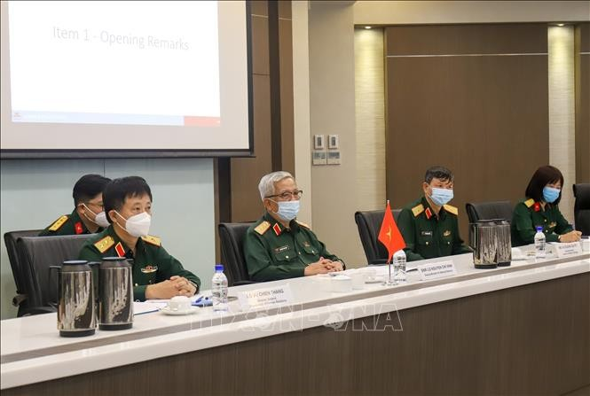 Đối thoại Chính sách Quốc phòng Việt Nam-Singapore lần thứ 11 - ảnh 1
