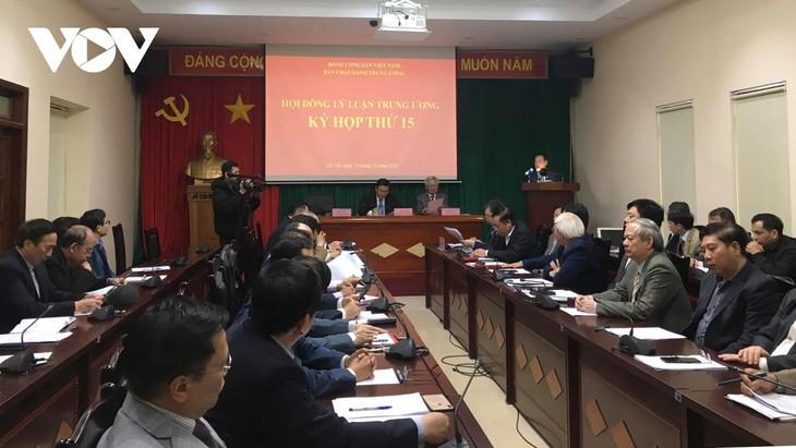 Phiên họp 15 Hội đồng Lý luận Trung ương - ảnh 1