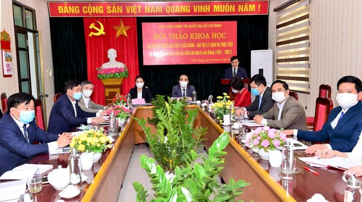 Hội thảo Đại hội đại biểu lần thứ 2 của Đảng Cộng sản Việt Nam - ảnh 1
