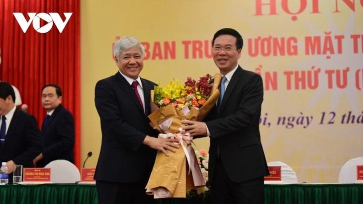 Hiệp thương cử ông Đỗ Văn Chiến làm Chủ tịch Ủy ban Trung ương Mặt trận Tổ quốc Việt Nam - ảnh 1