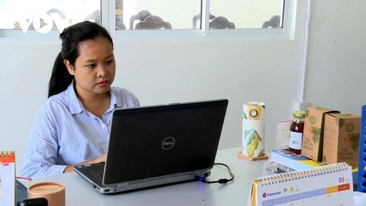 Trà Vinh: nhiều thanh niên khởi nghiệp thành công với nông sản - ảnh 2