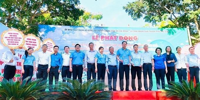Phát động thi đua cao điểm chào mừng kỷ niệm 110 năm Chủ tịch Hồ Chí Minh ra đi tìm đường cứu nước - ảnh 1