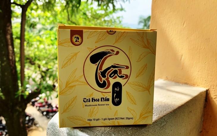Sinh viên Đà Nẵng khởi nghiệp làm trà hoa nấm thiên nhiên - ảnh 1
