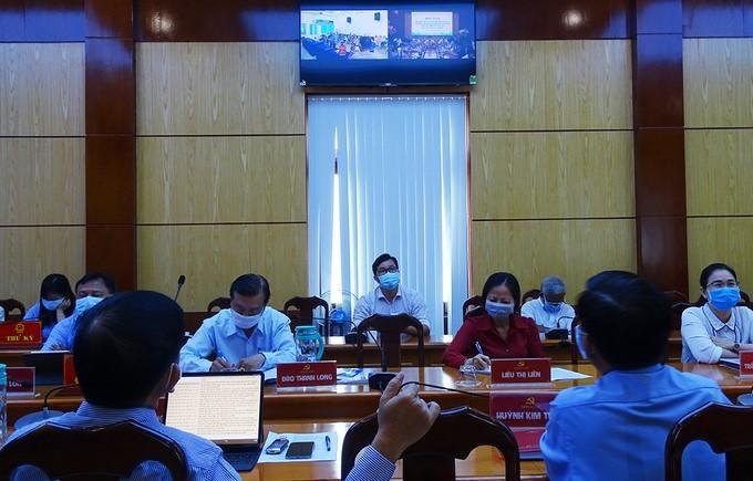 Thành phố Hồ Chí Minh tổ chức tiếp xúc cử tri trực tuyến, tương tác trên trang bầu cử điện tử - ảnh 1