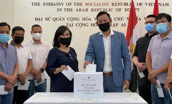 Cộng đồng người Việt ở nước ngoài chung tay ủng hộ Quỹ vaccine phòng, chống COVID-19 - ảnh 2