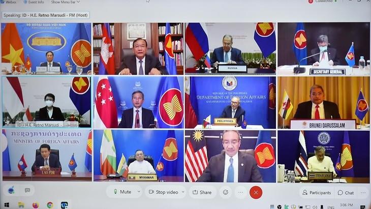ASEAN và Nga nỗ lực thúc đẩy phục hồi và cấu trúc khu vực châu Á-Thái Bình Dương - ảnh 1