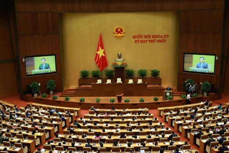Kỳ họp thứ nhất, Quốc hội khóa XV thành công trên nhiều phương diện  - ảnh 1