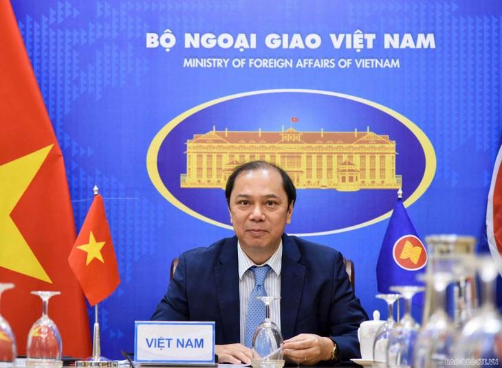 Hội nghị các Quan chức cao cấp ASEAN chuẩn bị cho Hội nghị Bộ trưởng Ngoại giao ASEAN lần thứ 54 - ảnh 2