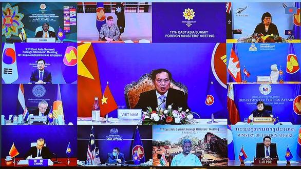 Tiếp tục đề cao các nguyên tắc bảo đảm Đông Á là cơ chế đối thoại, hợp tác  - ảnh 1