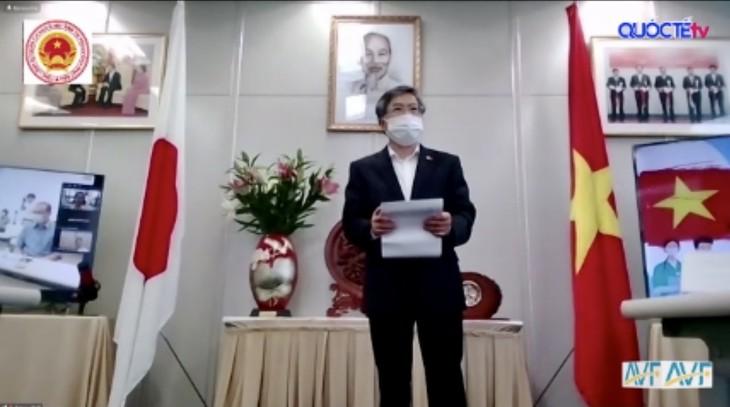 Gần 1,6 tỷ đồng của bạn bè quốc tế và cộng đồng Việt ở Fukuoka, Nhật Bản ủng hộ Quỹ vaccine phòng chống covid 19 của VN - ảnh 4