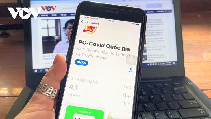 Bộ Thông tin và Truyền thông ra mắt ứng dụng công nghệ thống nhất PC-COVID - ảnh 1