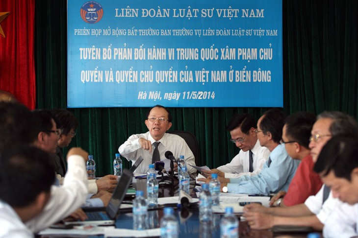 Federasi pengacara Vietnam mengutuk Tiongkok yang melanggar kedaulatan Vietnam - ảnh 1