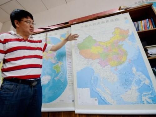 Filipina memprotes peta baru Tiongkok - ảnh 1
