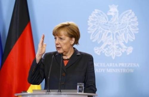 Jerman berupaya mencari jalan keluar bagi bentrokan di Ukraina - ảnh 1