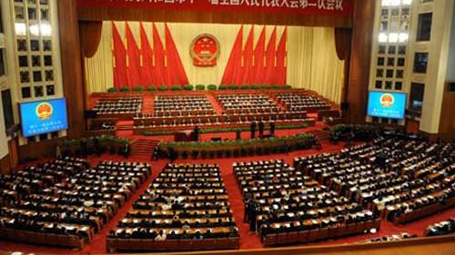 Persidangan ke-3 Kongres Rakyat Nasional Tiongkok angkatan ke-12 dibuka - ảnh 1