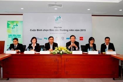 Mengumumkan laporan tahunan mengenai Ekonomi Vietnam tahun 2015 - ảnh 1