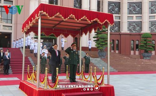 Memperhebat kerjasama pertahanan antara Vietnam dan Republik Korea - ảnh 1