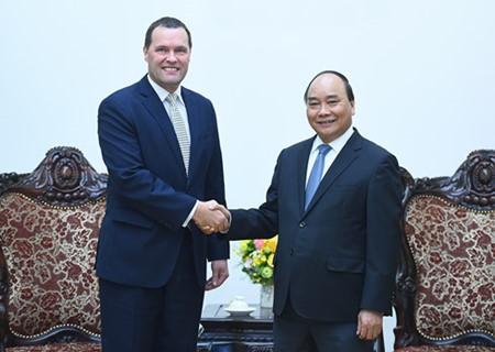 PM Vietnam, Nguyen Xuan Phuc menerima Dubes Republik Czech sehubungan dengan akhir masa bakti-nya di Vietnam - ảnh 1
