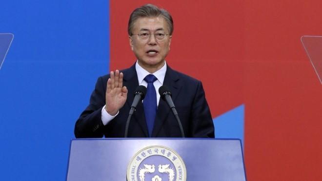 Republik Korea: Presiden Moon Jae-in menegaskan kembali komitmen akan menyelesaikan revisi UUD - ảnh 1