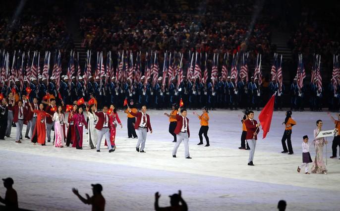 SEA Games 29: Pembukaan resmi Pesta olahraga yang paling besar di Asia Tenggara - ảnh 1