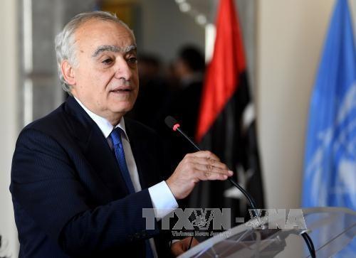Utusan Khusus PBB memulai perundingan baru tentang Libia - ảnh 1