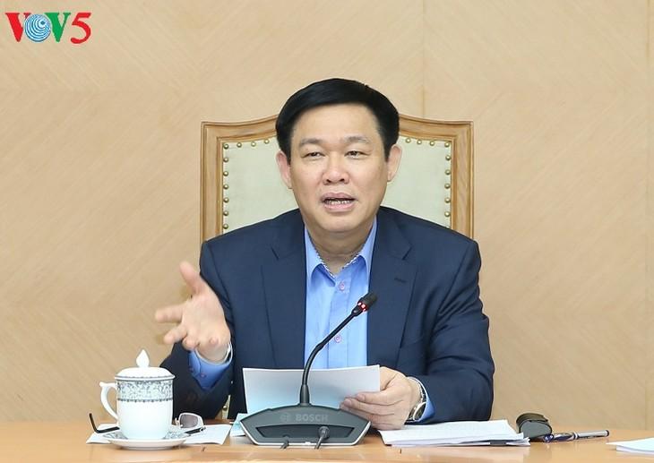 Deputi PM Vietnam, Vuong Dinh Hue memimpin sidang Komisi Pengelolaan Modal Negara - ảnh 1