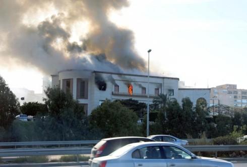 PBB mengutuk serangan terhadap Markas Kemlu Libia - ảnh 1