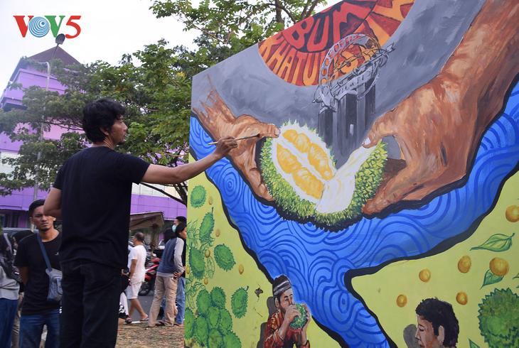 Festival Durian Khatulistiwa 2019, kebanggaan masyarakat Kalimantan Barat - ảnh 9