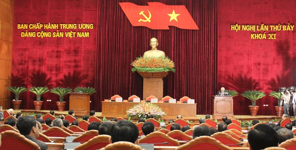 7th conference of 11th Party Central Committee closes - ảnh 1