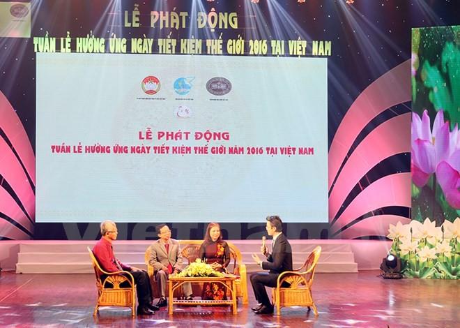 Vietnam responds to World Savings Day  - ảnh 1