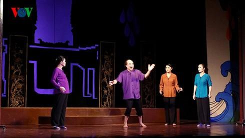 Vietnamese classical opera performed at Hanoi Opera House - ảnh 1