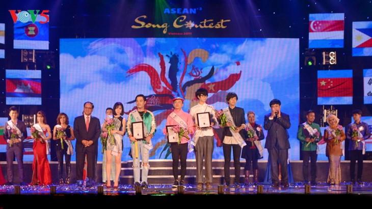 ASEAN+3 Song Contest closes - ảnh 2