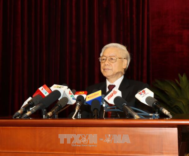 Party Central Committee approves 6th plenum resolutions, conclusions with high consensus  - ảnh 1