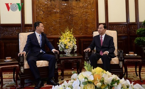 President receives foreign ambassadors' letter of credentials  - ảnh 3