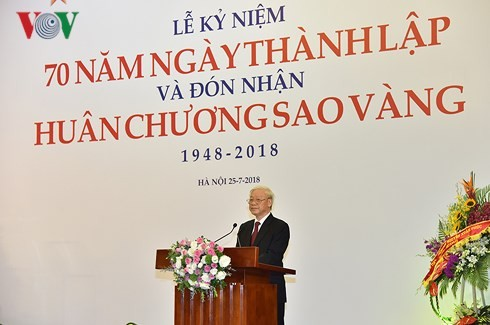Party leader underscores important role of arts, literature in national development - ảnh 1
