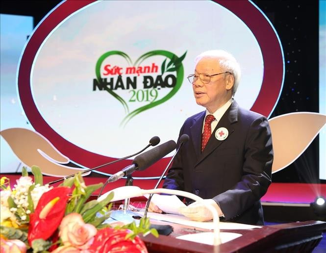 Party, State leader named Vietnam Red Cross Society's honorary President  - ảnh 1
