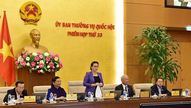 NA Standing Committee's 33rd meeting opens   - ảnh 1