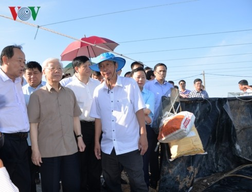 Party, State leader works with key leaders of Kien Giang - ảnh 2