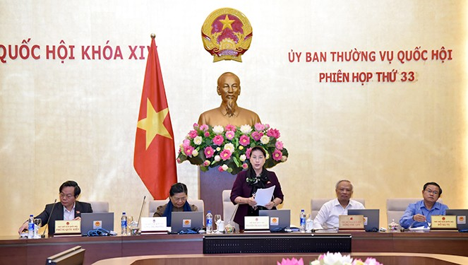 NA Standing Committee closes 33rd session  - ảnh 1