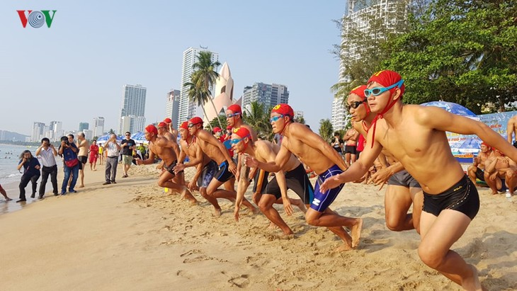 Search and rescue competition during Nha Trang Sea Festival - ảnh 1