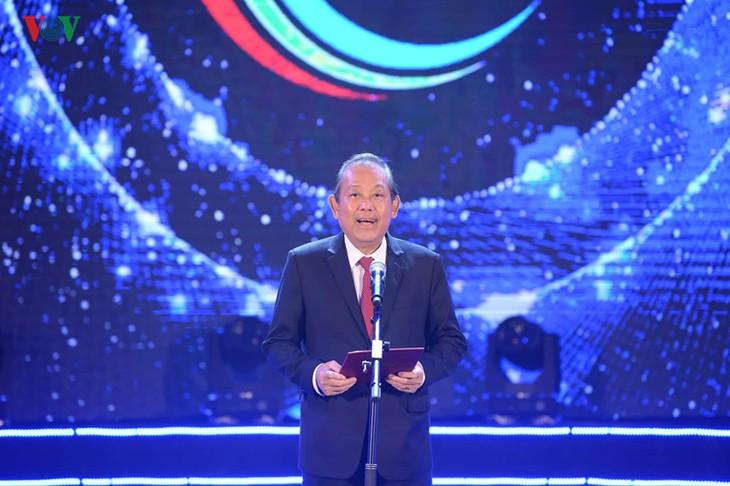 ASEAN+3 pop singing contest closes, Malaysian singer wins  - ảnh 4