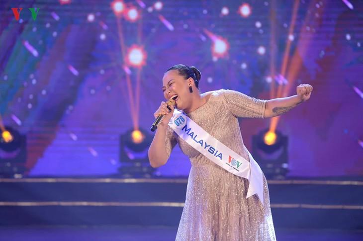 ASEAN+3 pop singing contest closes, Malaysian singer wins  - ảnh 5