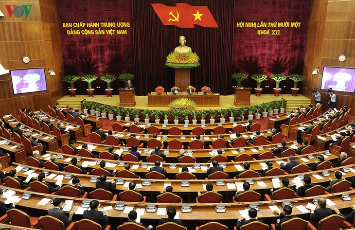 Party Central Committee's 11th plenum closes - ảnh 2
