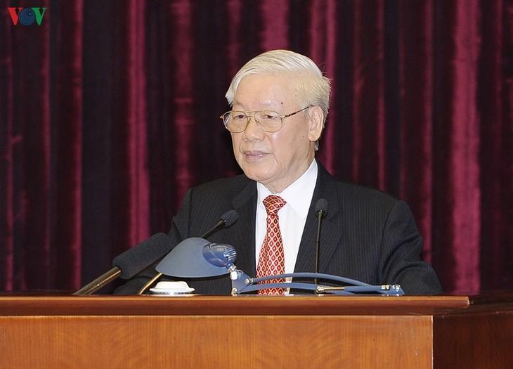 Party Central Committee's 11th plenum closes - ảnh 1