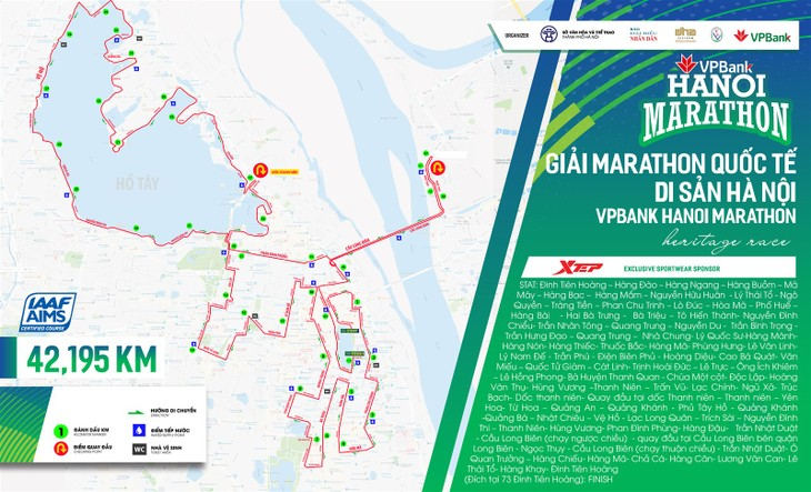 VPBank Hanoi Marathon announced  - ảnh 1