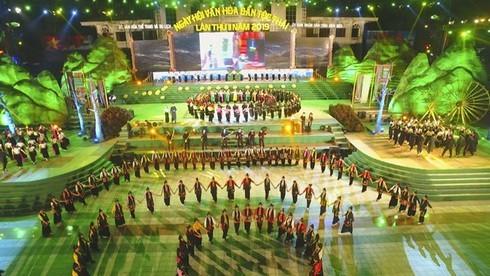 Thai ethnic cultural festival 2019 closes - ảnh 1