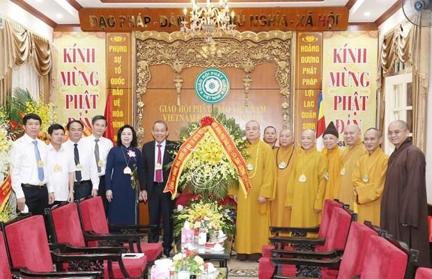 Deputy PM extends congratulations on Buddha's birthday - ảnh 1