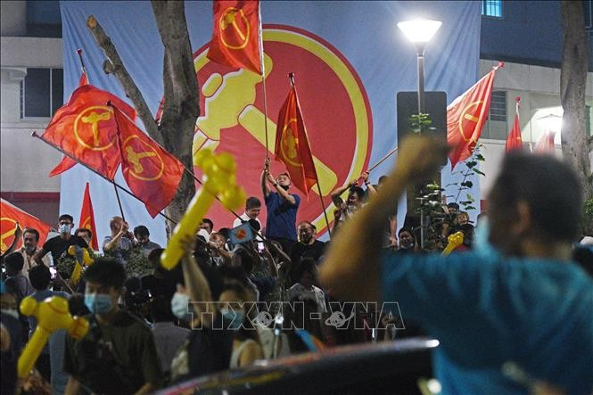 Ruling People's Action Party wins Singapore's general election - ảnh 1